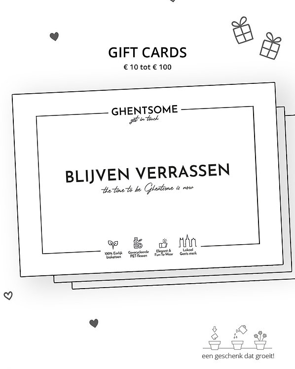 GHENTSOME GIFT CARD