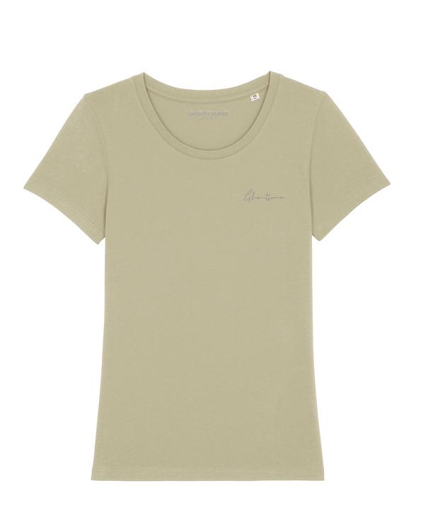 Signature T-shirt Saliegroen