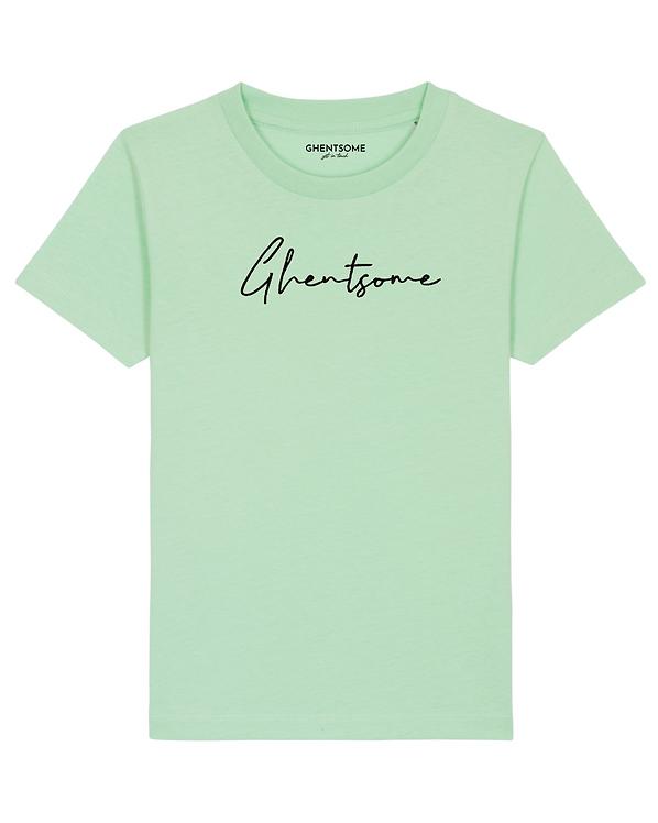 Signature T-shirt Kids  Mint