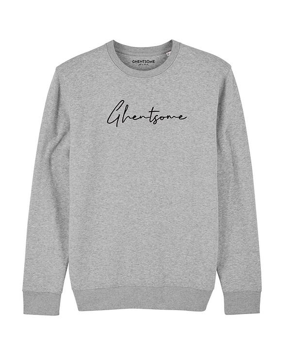 Signature Sweater Lichtgrijs