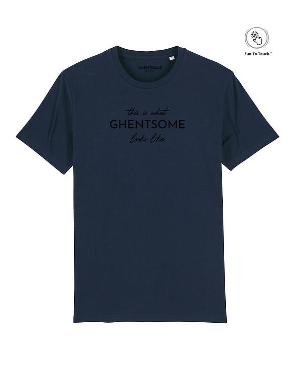 FTT Statement T-shirt navy
