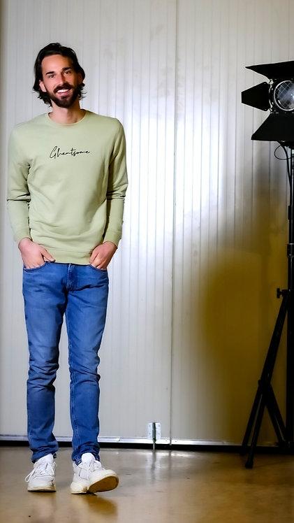 Signature Sweater Saliegroen
