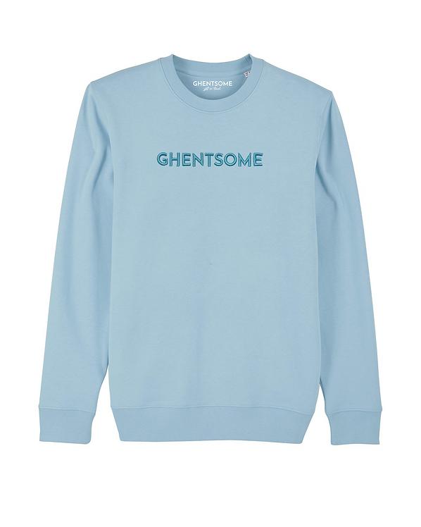 Classic Sweater 3D Lichtblauw