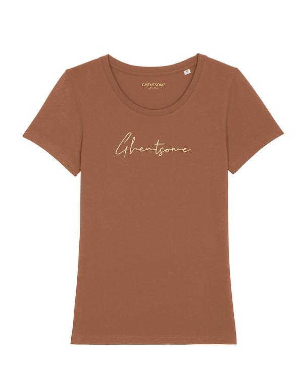 Signature T-shirt Caramel
