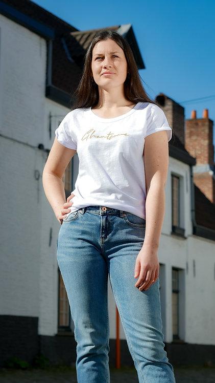 Signature T-shirt Comfy Wit Goud