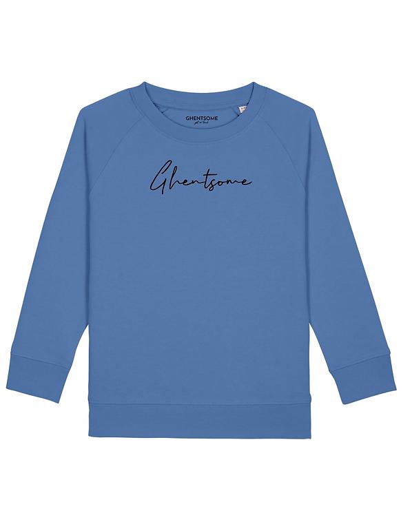 Signature Sweater Kids Helderblauw