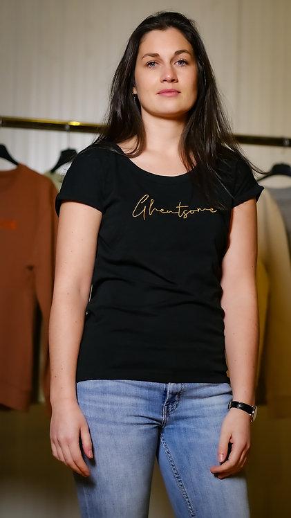 Signature T-shirt Comfy Zwart