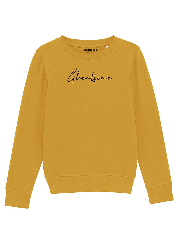Signature Sweater Kids Okergeel