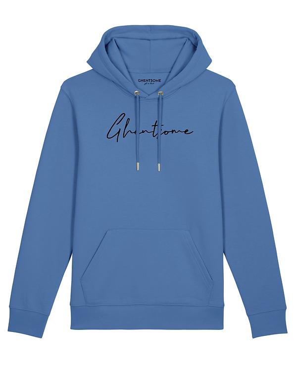 Signature Hoodie Helderblauw