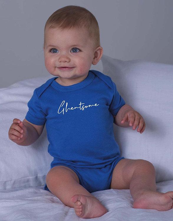 Babyromper Blauw