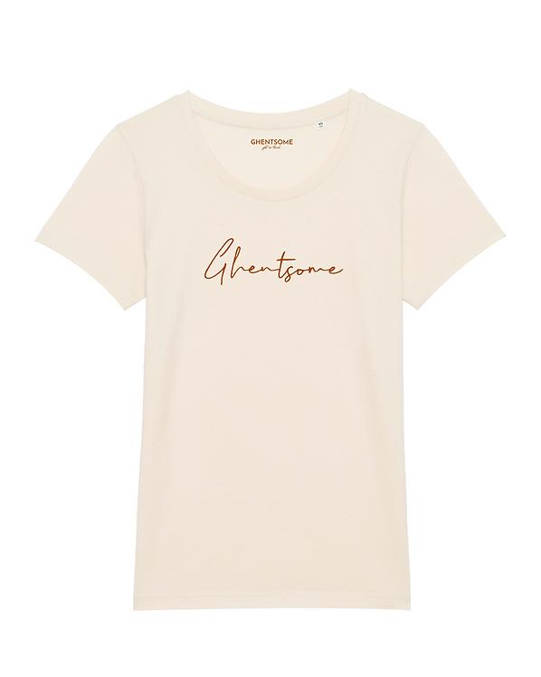 Signature T-shirt Naturel