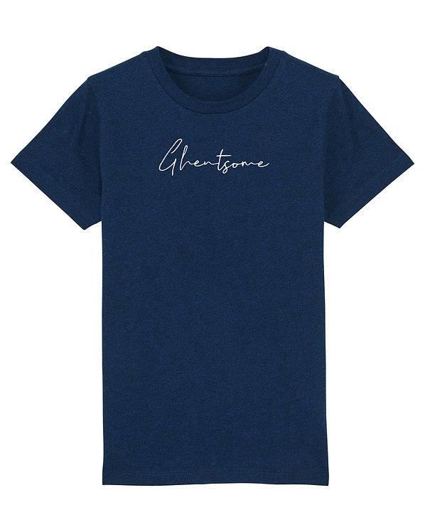 Signature T-shirt Kids Navy