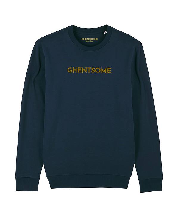 Essential Sweater  Navy 3D GOLD