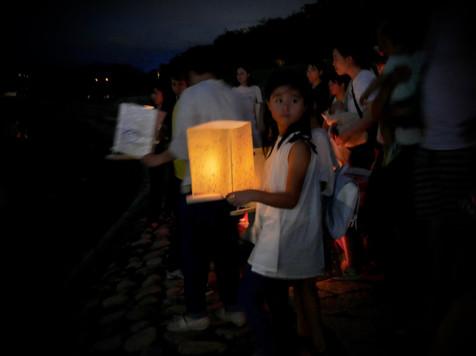 Hiroshima Lantern Floating Ceremony