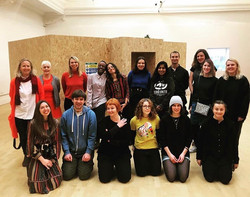 This years cohort of artists