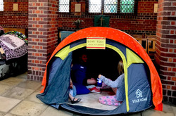 Sound play tent
