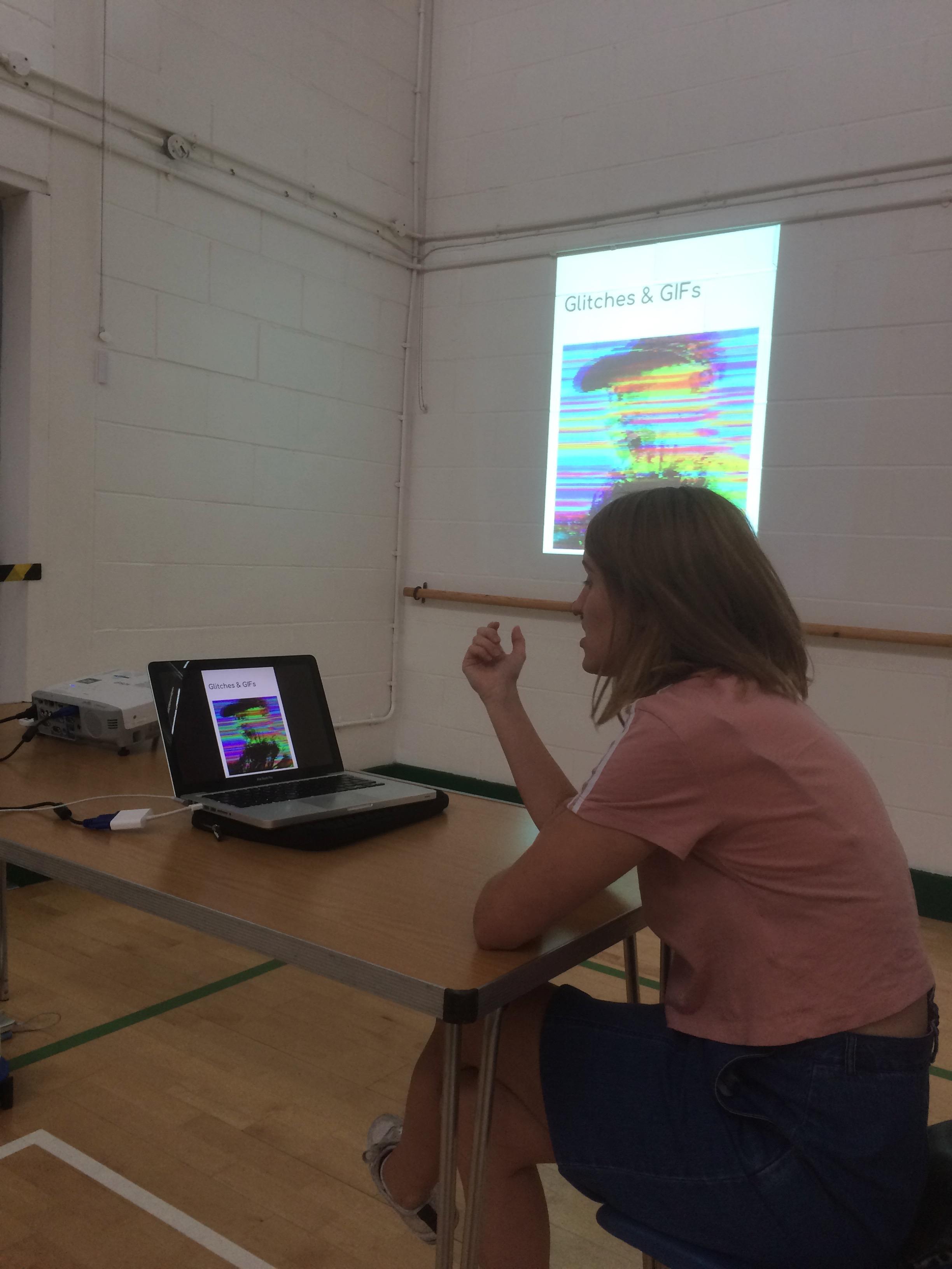 Digital art workshop