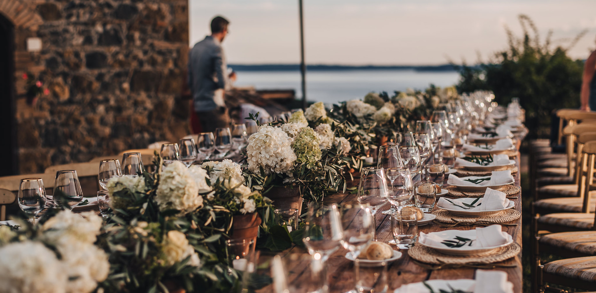 Destination Wedding Bolsena Lake