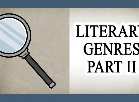 Noveljutsu Episode 05 - Genre Part II (Mystery, Thriller, and Suspense)