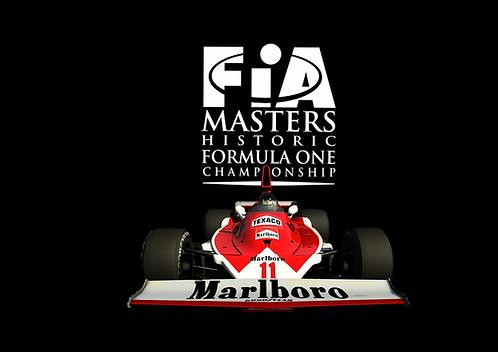FIA Historic Formula 1. 22/23/24 May. Brands Hatch.