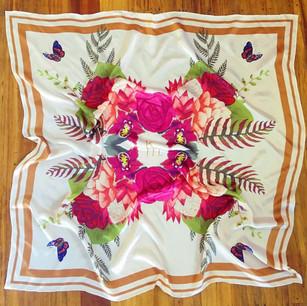 Karen Murrell silk scarf