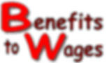 Benefits to Wages Logo
