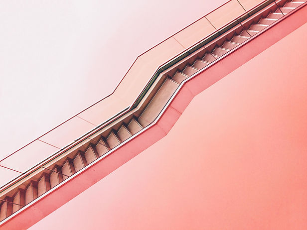 Pink Stairway