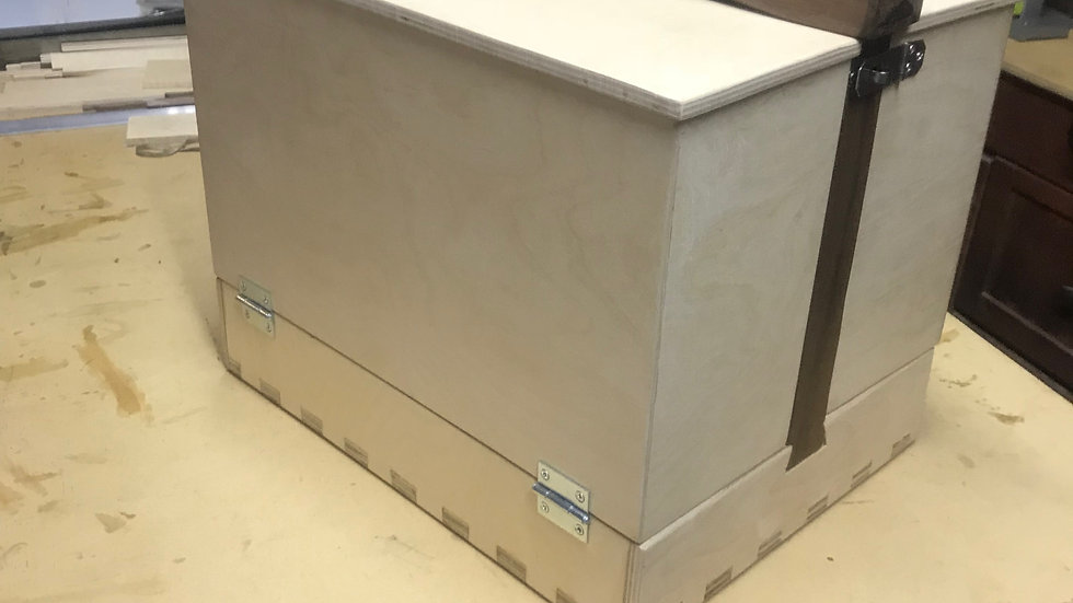 shoe shining box