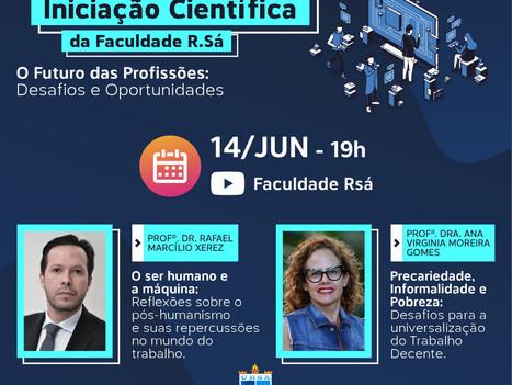 Último dia de inscrições para XV Semana de Iniciação Científica da Faculdade R.Sá