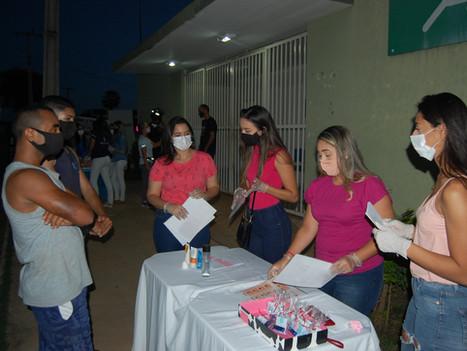 Alunos e professores do curso de Fisioterapia realizam atividades voltadas para o mês da mulher