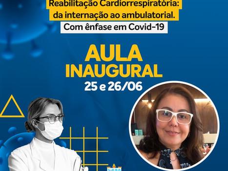 Começa hoje aula inaugural da Pós-Graduação em Reabilitação Cardiorespiratória