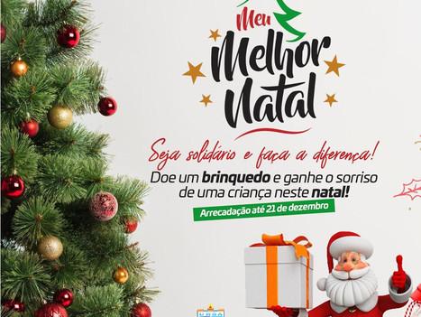 """Faculdade R.Sá promove Campanha """"Meu Melhor Natal"""" para arrecadação de brinquedos"""