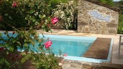 piscine chambres d'hôtes lozere
