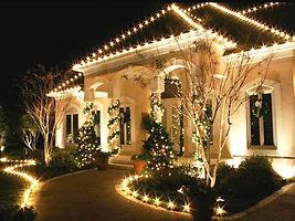 Christmas lights residential