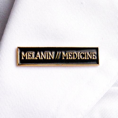 Melanin // Medicine Lapel Pin