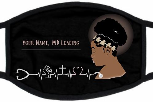 Personalized Black Mask