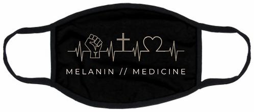 Melanin // Medicine EKG Mask
