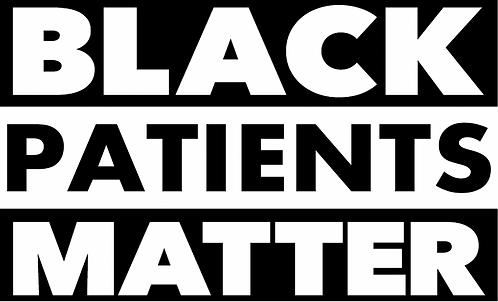 #BlackPatientsMatter Sticker