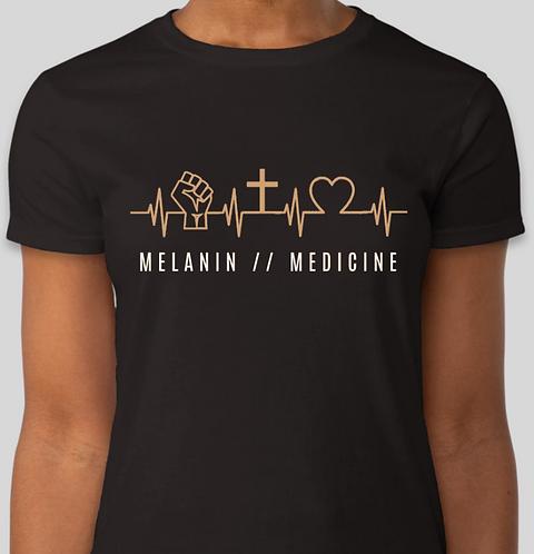 Melanin // Medicine EKG Tee