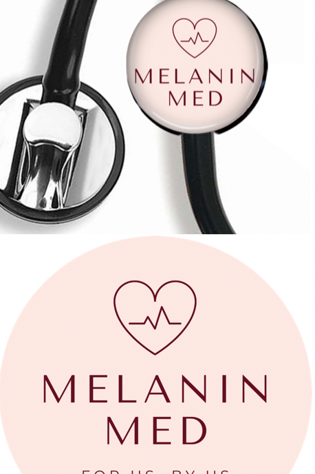 Logo Stethoscope Clip + Sticker Combo