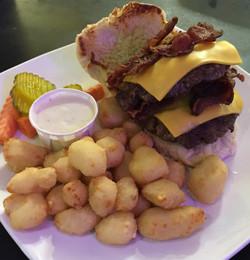 Burger at T-Bock's Sports Bar & Gril