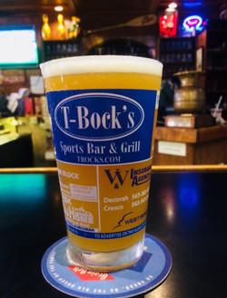 Beer at T-Bock's Decorah