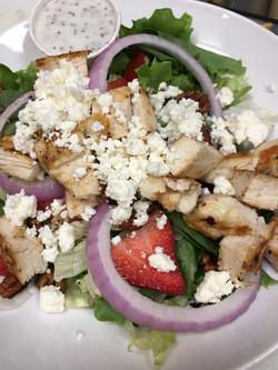 Salad at T-Bock's Sports Bar &