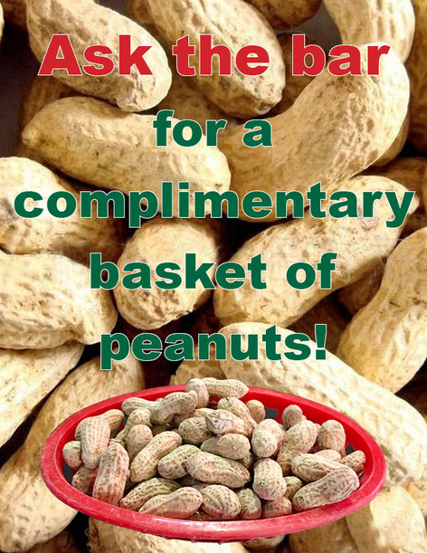 Complimentary Peanuts