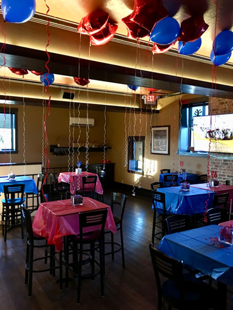 T-Bock's Upstairs event venue.
