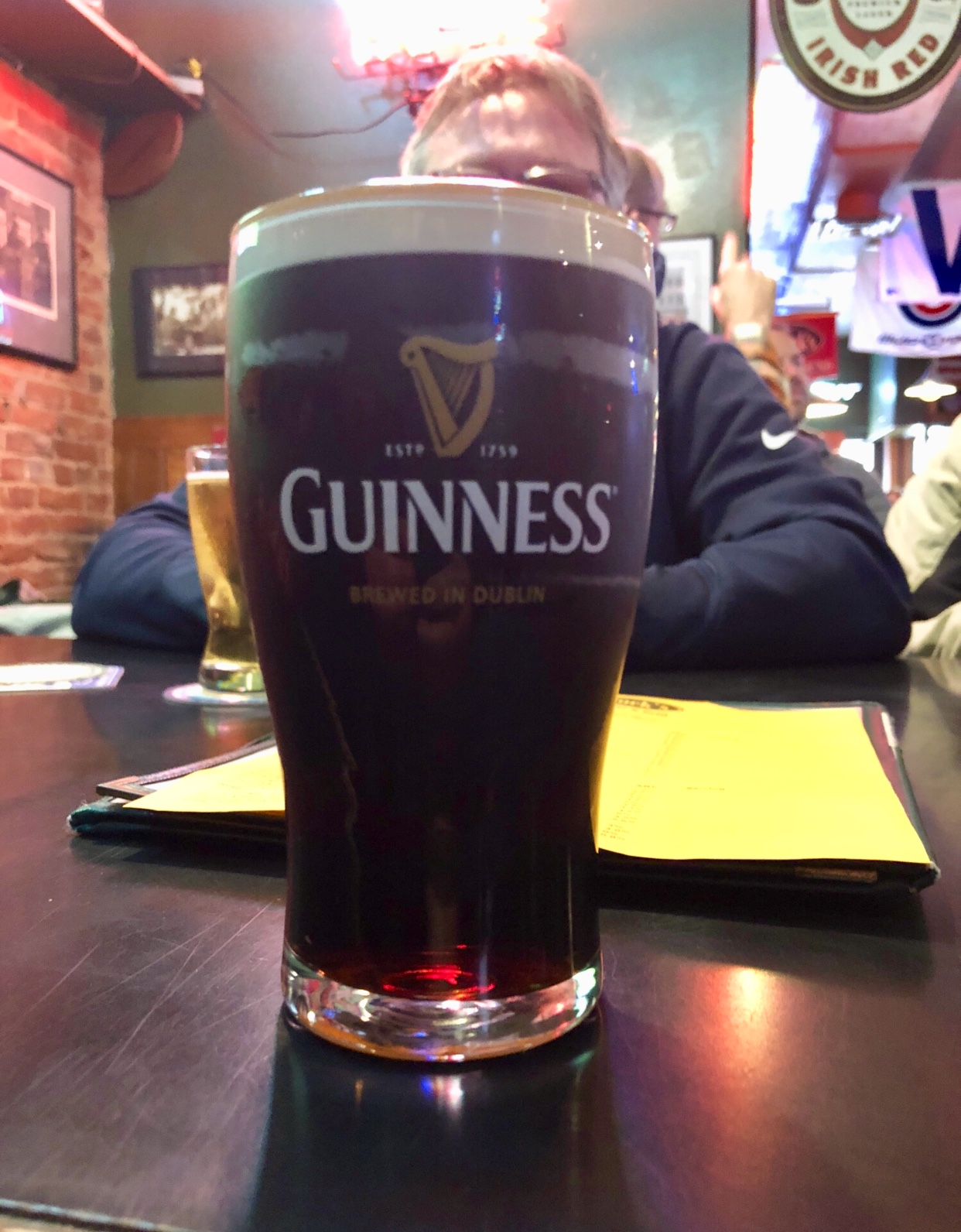 Guinness at T-Bock's Decorah
