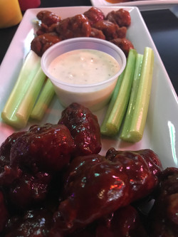 Wings at T-Bock's Sports Bar & Grill