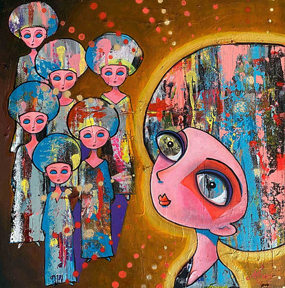 I turn around a face my fear - Maria Alm