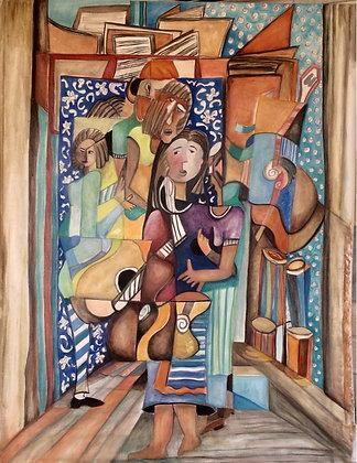 Inspiração das Bachianas  (Villa Lobos) - Silvia Borini