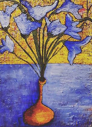 Flores Azuis - Rafael Zanasi